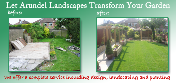 Let Arundel Landscapes transform your garden