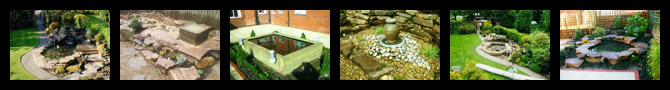garden ponds and water features